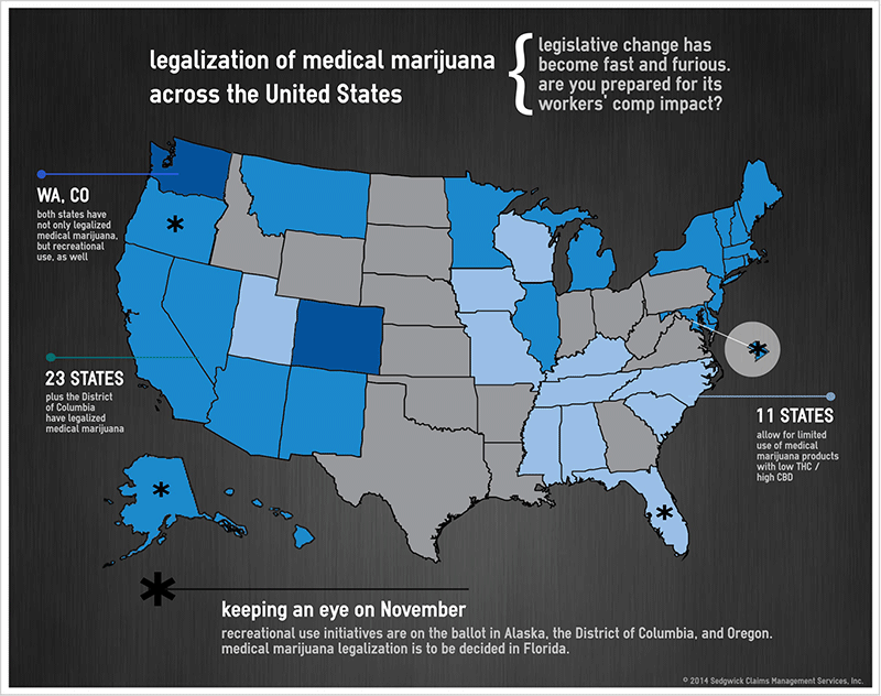legalization of medical marijuana Marijuana legalization 2018: which states might consider cannabis laws this year 2018 ballot initiative to approve comprehensive medical marijuana legalization.